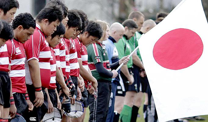 ПРИРОДНОМ КАТАСТРОФОМ ОСТАЛИ БЕЗ ОРГАНИЗАЦИЈЕ КУПА ПАЦФИЧКИХ НАЦИЈА: Рагбисти Јапана.