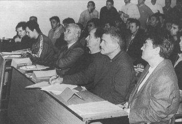 ИСТАКНУТИ СПОРТСКИ РАДНИК ХРВАТСКЕ И ЈУГОСЛАВИЈЕ: професор Зденко Јајчевић (други с лева).