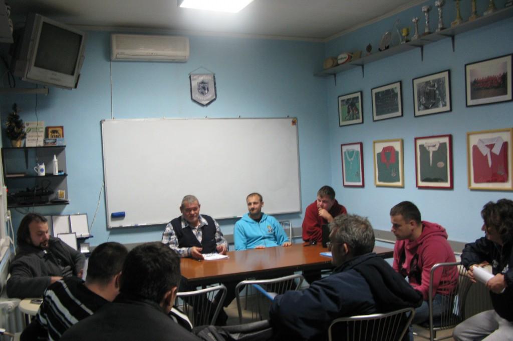 РАДНО: Атмосфера са Скупштине Рагби савеза Србије.