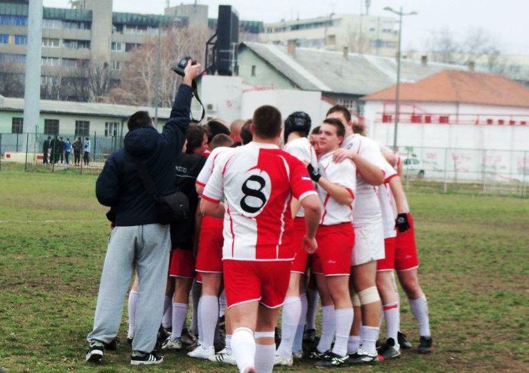 ГОСТУЈУ КОМАРЦИМА: рагбисти Војводине