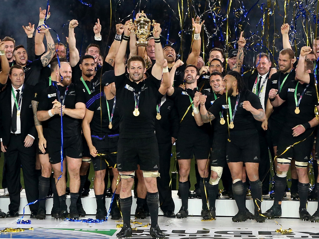 ШАМПИОНИ СВЕТА: рагбисти Новог Зеланда