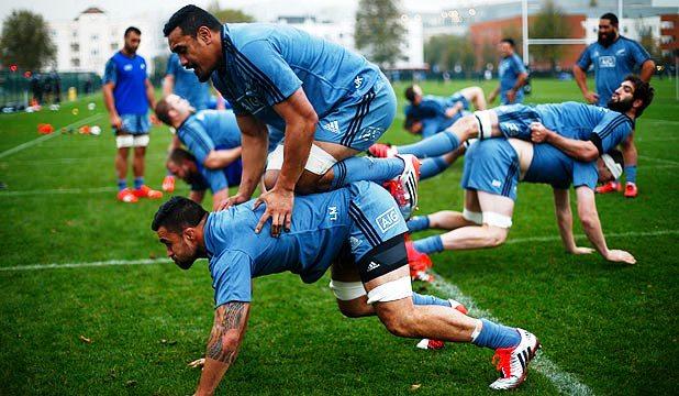 СПРЕМАЈУ СЕ ЗА НОВИ ТЕСТ: Новозеланђани на једном од тренинга